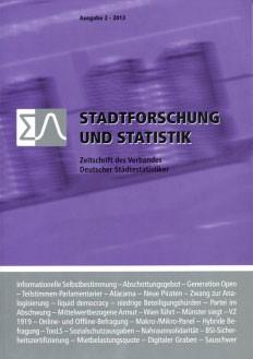 Stadtforschung + Statistik - Ausgabe 2/2013