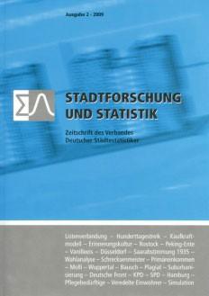 Stadtforschung + Statistik – Ausgabe 2/2009