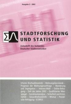 Stadtforschung und Statistik - Ausgabe 2/2002