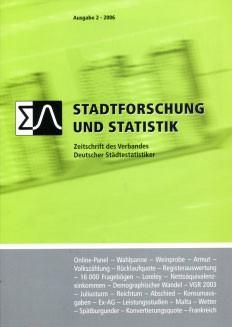Stadtforschung + Statistik – Ausgabe 2/2006