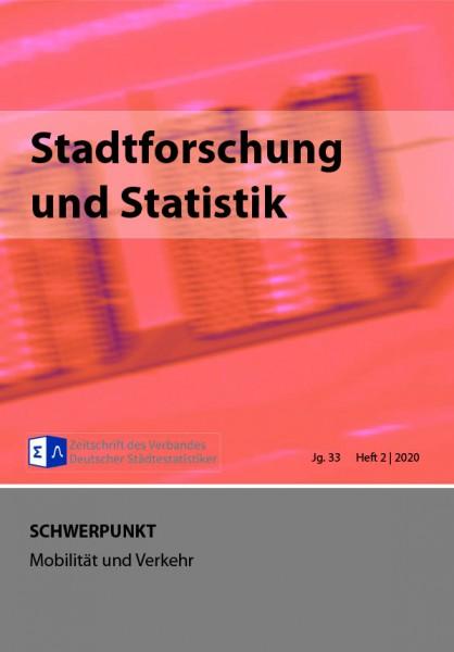 Stadtforschung + Statistik - Ausgabe 2/2020