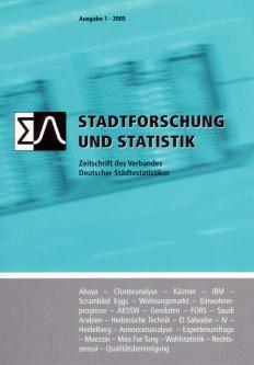 Stadtforschung und Statistik – Ausgabe 1/2005