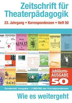Zeitschrift für Theaterpädagogik - Ausgabe 50