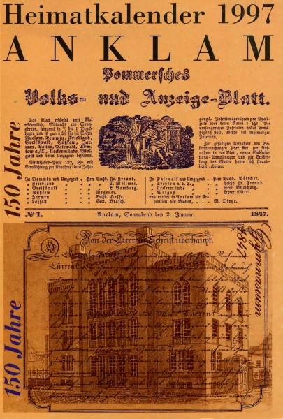 Heimatkalender Anklam 1997