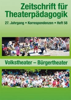 Zeitschrift für Theaterpädagogik - Ausgabe 58