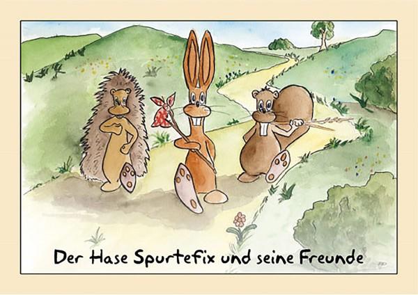 Der Hase Spurtefix und seine Freunde