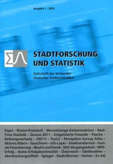 Stadtforschung + Statistik - Ausgabe 1/2014