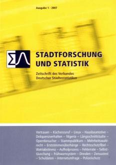 Stadtforschung + Statistik – Ausgabe 1/2007