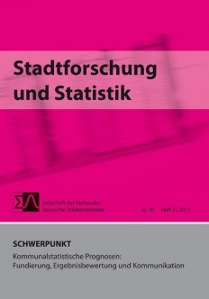 Stadtforschung + Statistik - Ausgabe 2/2017