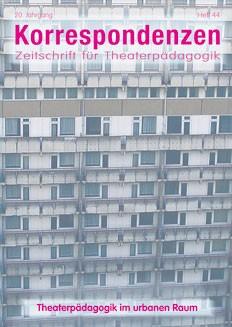 Zeitschrift für Theaterpädagogik - Ausgabe 44