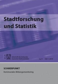 Stadtforschung + Statistik - Ausgabe 1/2018