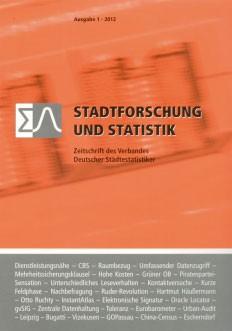 Stadtforschung + Statistik – Ausgabe 1/2012