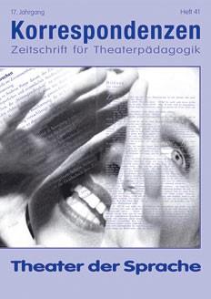 Zeitschrift für Theaterpädagogik - Ausgabe 41