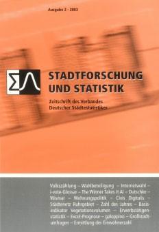 Stadtforschung und Statistik - Ausgabe 2/2003