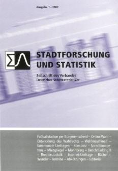 Stadtforschung und Statistik - Ausgabe 1/2002
