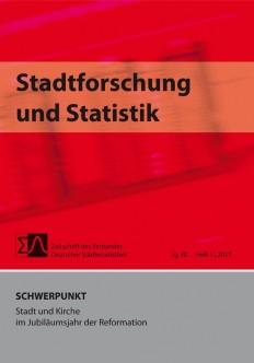 Stadtforschung + Statistik - Ausgabe 1/2017