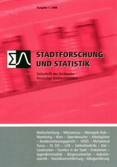 Stadtforschung + Statistik – Ausgabe 1/2008