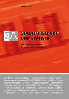 Stadtforschung + Statistik - Ausgabe 2/2012