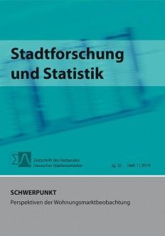 Stadtforschung + Statistik - Ausgabe 1/2019