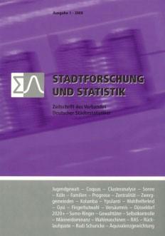 Stadtforschung + Statistik – Ausgabe 1/2009