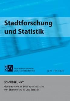 Stadtforschung + Statistik - Ausgabe 1/2015