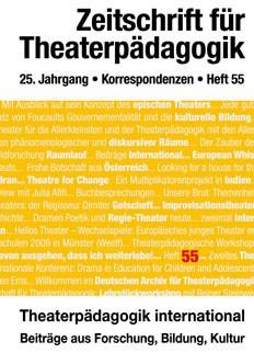 Zeitschrift für Theaterpädagogik - Ausgabe 55