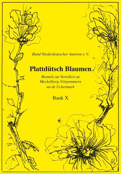 Plattdütsch Blaumen X