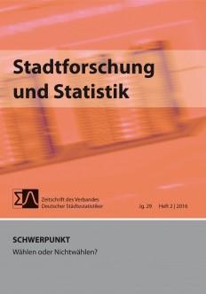 Stadtforschung + Statistik - Ausgabe 2/2016