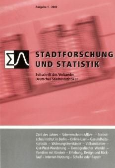 Stadtforschung und Statistik - Ausgabe 1/2003
