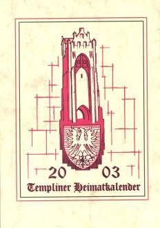 Templiner Heimatkalender 2003