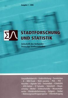 Stadtforschung + Statistik – Ausgabe 1/2006