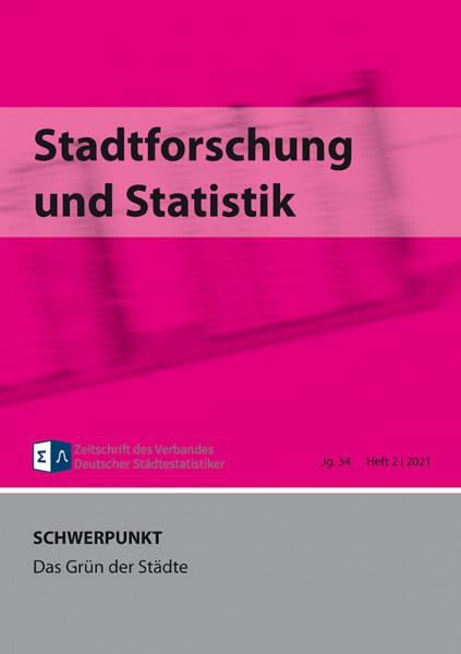 Stadtforschung + Statistik - Ausgabe 2/2021