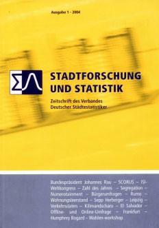 Stadtforschung und Statistik - Ausgabe 1/2004