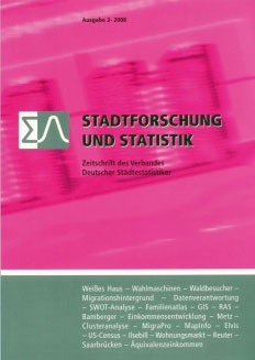 Stadtforschung + Statistik – Ausgabe 2/2008