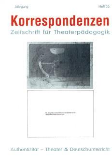 Zeitschrift für Theaterpädagogik - Ausgabe 33