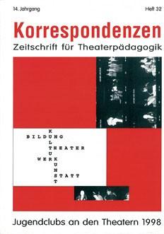 Zeitschrift für Theaterpädagogik - Ausgabe 32