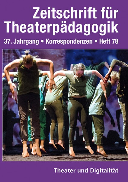 Zeitschrift für Theaterpädagogik - Ausgabe 78