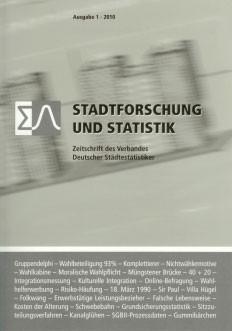 Stadtforschung + Statistik – Ausgabe 1/2010