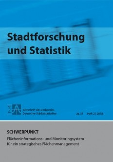 Stadtforschung + Statistik - Ausgabe 2/2018